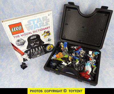 Star Wars LEGO Visual Dictionary Luke Skywalker Darth Vader + parts pieces in LE