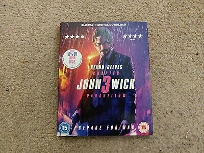 John Wick Chapter 3 - Parabellum, Blu-ray and Digital