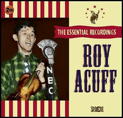 ROY ACUFF  *  40 Greatest Hits * NEW 2-CD BOX SET * All Original Songs * NEW