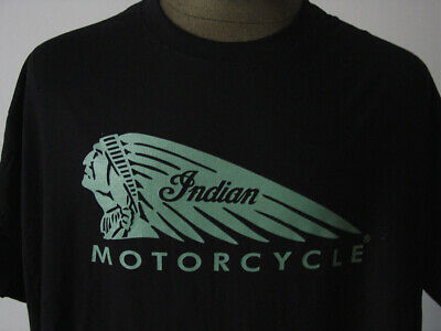 INDIAN Motorcycle ★ Heavy T-Shirt * NEU  Siebdruck * Motorrad * Oldtimer * black