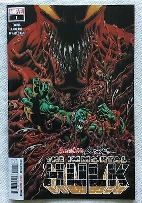 The Immortal Hulk Absolute Carnage Tie-in Ewing, Andrade 2019 Marvel Comics