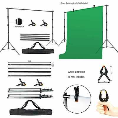 Photo Video Studio 10 X 10Ft Heavy Duty Adjustable Backdrop Stand Background Sup