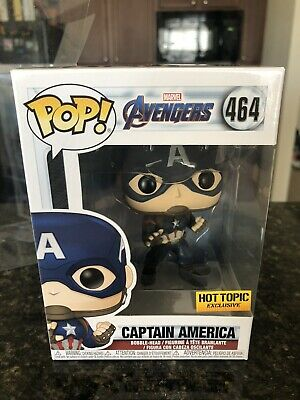 Funko Pop Captain America 464 Hot Topic Exclusive with Protector