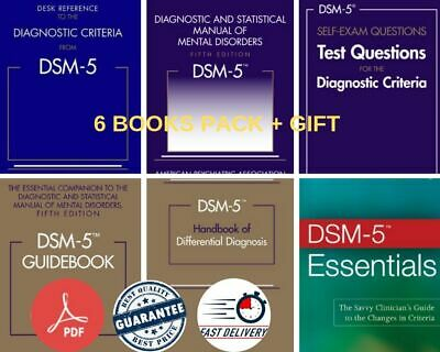 🔥DSM-5 Diagnostic and Statistical Manual of Mental Disorders 5th Ed (+Gift 🎁)