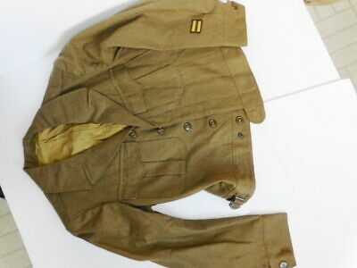 WW2 US Army GI M-1944 WOOL OD SERGE Enlisted IKE TUNIC 40-S MED CLEAN