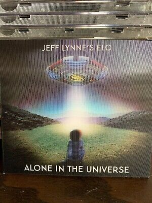 Jeff Lynne's ELO Alone In The Universe Deluxe Edition 3D Cover