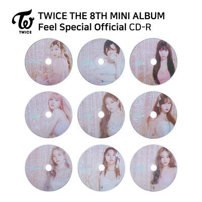 TWICE - 8th Mini Album Feel Special - CD Plate