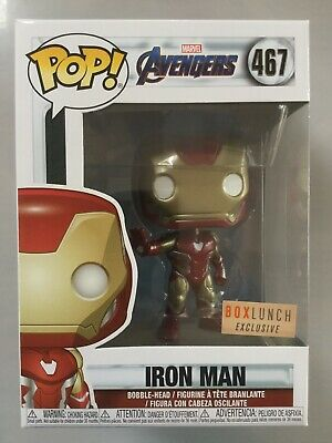 Funko Pop Iron Man Exclusive. Marvel Avengers Limited Edition Collectible Figure