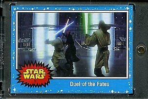 2019 Topps Star Wars Journey to Eps 9 1/1 Blank Back. Duel of the Fates