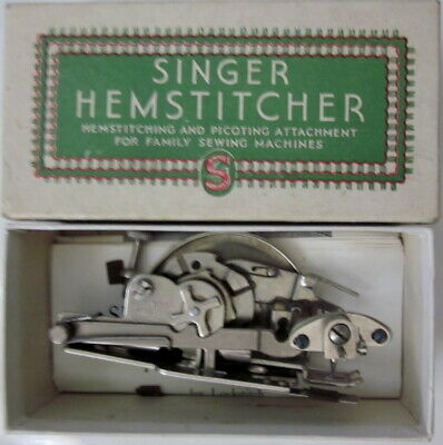 1942 Singer Hemstitcher and Picot Edger for Lockstitch Sewing Machines NO. 12138