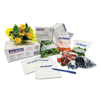 Inteplast Group Get Reddi Food & Poly Bag 10 x 8 x 24 22-Quart 0.85 Mil Clear