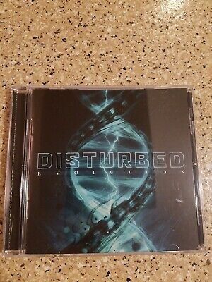 Evolution by Disturbed CD October 2018 Like NEW condition Reprise Records