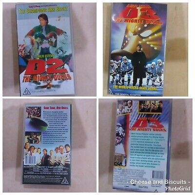 vhs tapes, Mighty Ducks 2  & 3