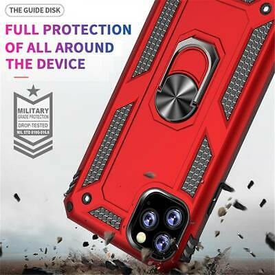 For iPhone 11Pro Max 11 Pro 11 Armor Rugged Shockproof PC Hybrid Case Cover
