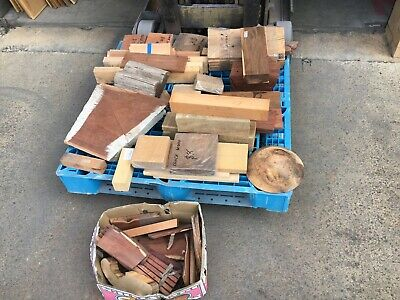 Pallet Craft Of Woodworking Timber incl. Walnut, Myall, Blackwood, Sassfras, Cyp