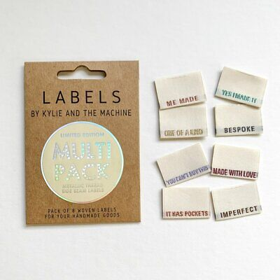 Multi Pack Limited Edition - KatM -sew in woven tags clothing labels FREEPOSTAU