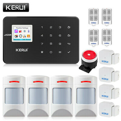 KERUI G18 Wireless GSM Home Security Alarm System With Motion Detector Sensor