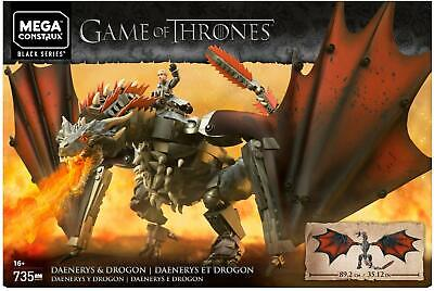 Game of Thrones Daenerys and Drogon - Daenerys and Drogon Mega Construx Set