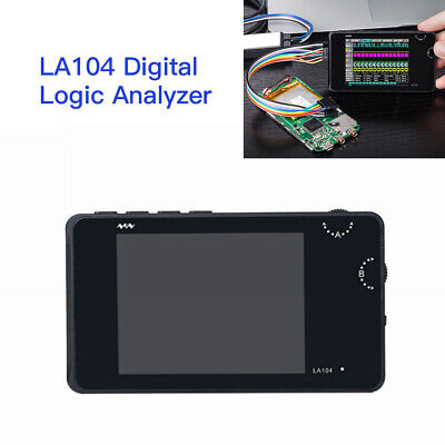 Handheld DSO 4-Channel Digital Logic Analyzer Oscilloscope SPI I2C Programmable