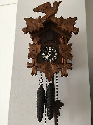 Vintage Black Forest Cuckoo Clock (Regula)