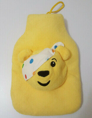 Children in need Pudsey Bear small case with hot water bottle possibly from 2011