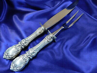 Reed & Barton Francis 1St Sterling Silver Carving Set - Nearly New Condition Pt