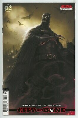 Batman #80  * Variant *   Card stock cover    City of Bane     NM