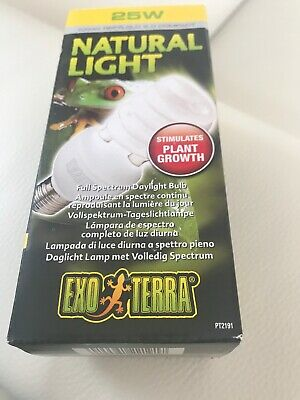 Exo Terra Bulb 25W & Thermostat 100W  Brand New