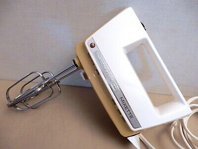 Mid Century Vintage -Hamilton Beach Scovill MIXETTE Electric Hand Mixer USA made