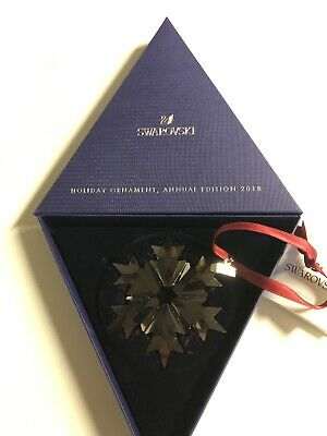 Early Christmas Special; Swarovski holiday ornament, annual edition