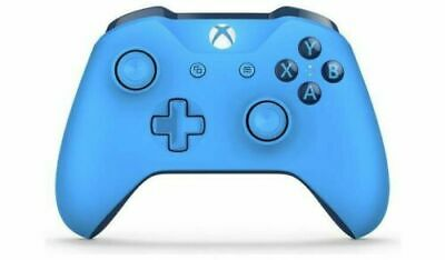 Microsoft Xbox One Wireless Controller Blue Official 1708 3.5mm 6 MONTH WARRANTY