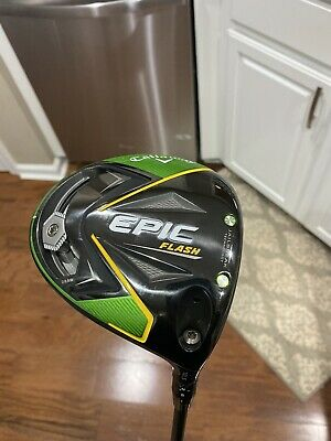 Callaway Epic Flash 10.5 driver with upgraded Graphite Design Tour AD IZ 6S