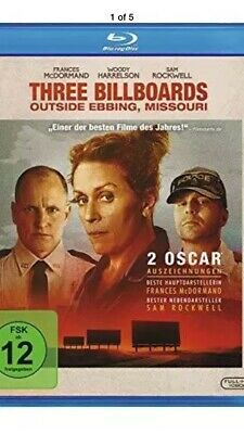 Three Billboards outside Ebbing, Missouri. Blu-ray