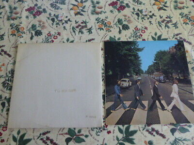 The Beatles - Abbey Road + The White Album -(Top Opener) -(No Inserts) Uk Apple