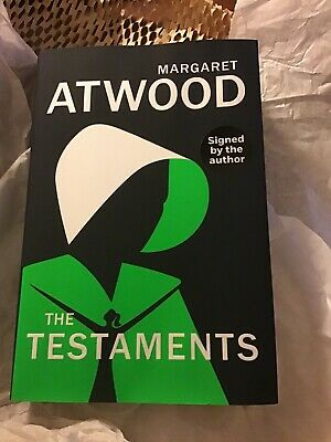 The Testaments Margaret Atwood SIGNED  Uk 1ST/1ST WITH