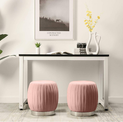 Tremendous Bombay Company Round Tufted Ottoman Pouf Foot Rest Vanity Short Links Chair Design For Home Short Linksinfo