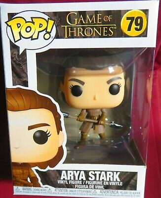 "Brand New Pop , From ""Game Of Thrones"", #79, Arya Stark With Double Spear."