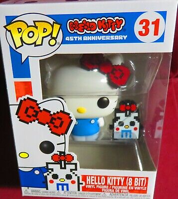"New Pop ""Hello Kitty"", 45Th Anniversary, #31, Hello Kitty 8 Bit     In Hand"