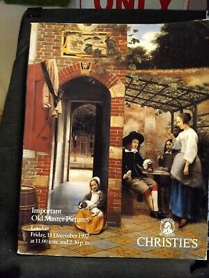 Christie's Catalog  Important Old Master Pictures London 11- December 1992