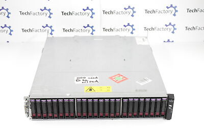 HP P2000 G3 7.2TB 8GB Fibre Channel Dual Controller Array AP836A