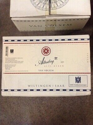 Van Volxem Riesling Altenberg Alte Reben 2009 CASE of 6 BOTTLES!!