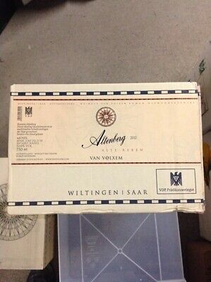 Van Volxem Riesling Altenberg Alte Reben 2012 CASE of 6 BOTTLES!!