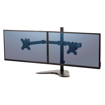 Fellowes Professional Series Freestanding Dual Monitor Mount, F8043701
