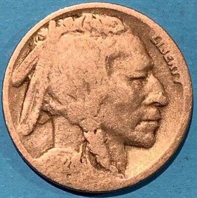 1928 United States Buffalo Indian Head Nickel USA 5 Cent Coin