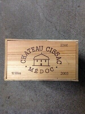 Cissac Haut-Médoc 2003 CASE of 12 Bottles