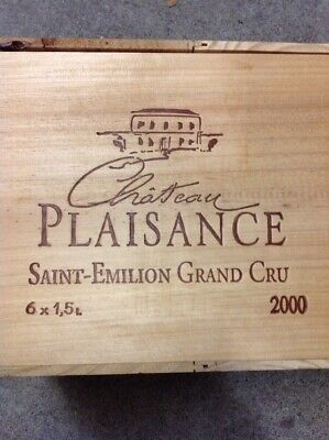 Plaisance Saint-Émilion 2000 CASE of 6 MAGNUMs