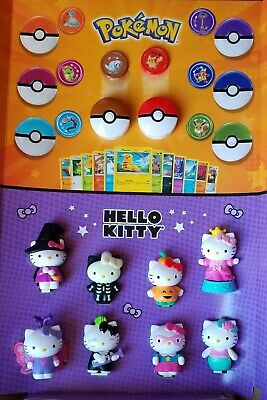 Pokemon + Hello Kitty 🎃 2019 Edition McDonalds Happy Meal Toys #1 - #16 All