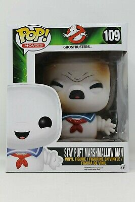 """Funko POP Movies Ghostbusters Toasted STAY PUFT MARSHMALLOW MAN #109 6"""" Vinyl"""