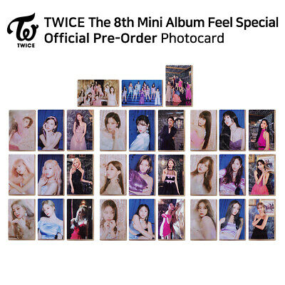 TWICE - 8th mini album : Feel Special Official Photocard (PreOrder) - Member SET