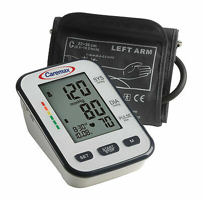 New Digital LCD High Blood Pressure Heart Rate Monitor FDA Electronic Kit